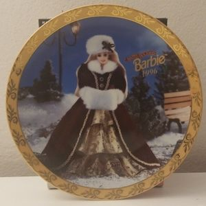 BARBIE 1996 Holiday Collectors Plate New